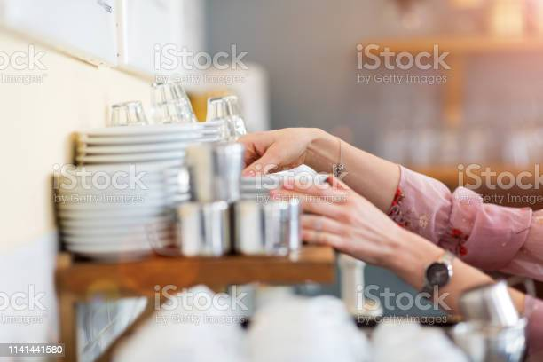 Close up of woman putting clean dishes to dry picture id1141441580?b=1&k=6&m=1141441580&s=612x612&h=0ydjfapiz1oimkgbzcvvgn1i7s2pwou ycdaqlvzfcs=