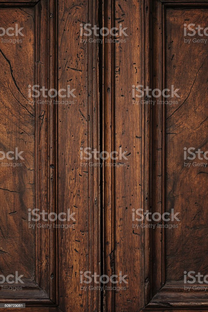 Close up of wooden design element stock photo