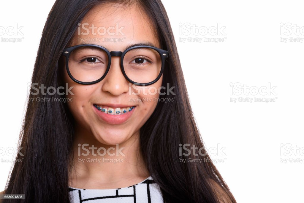 junge teen nerd mädchen