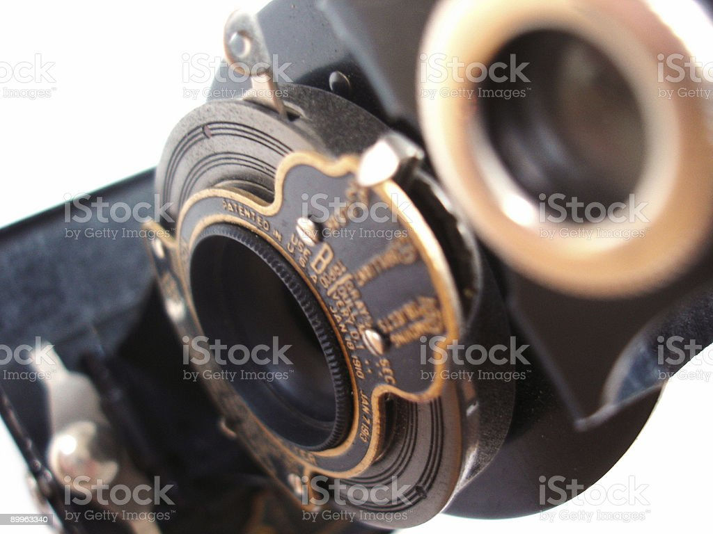 close up old camera royalty-free stock photo