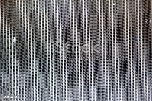 istock Close up Old car radiator 958268654