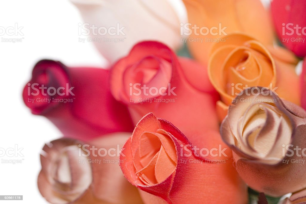 close up on a bouquet stock photo