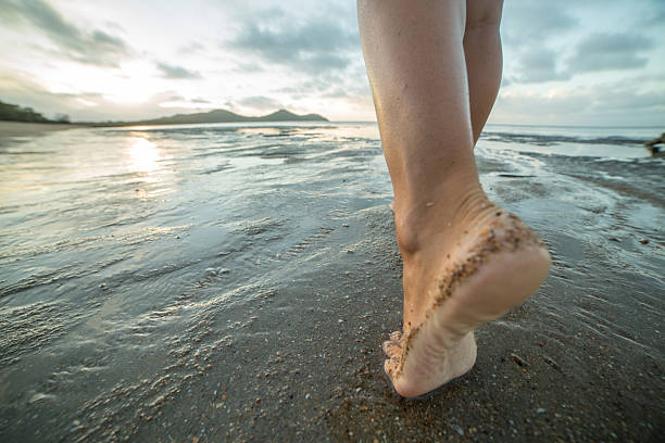 Image result for bare feet walking away