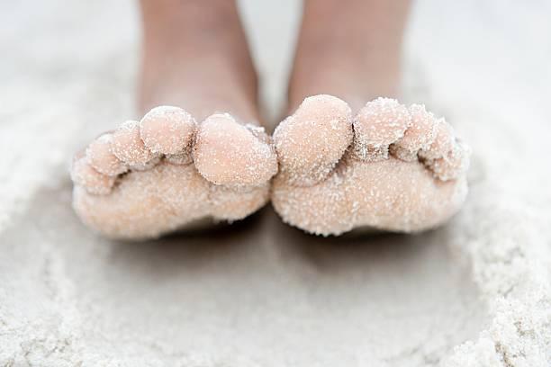 Nahaufnahme der Füße – Foto