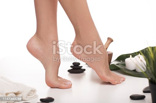 938027870 istock photo Close up on female legs. 1147393288