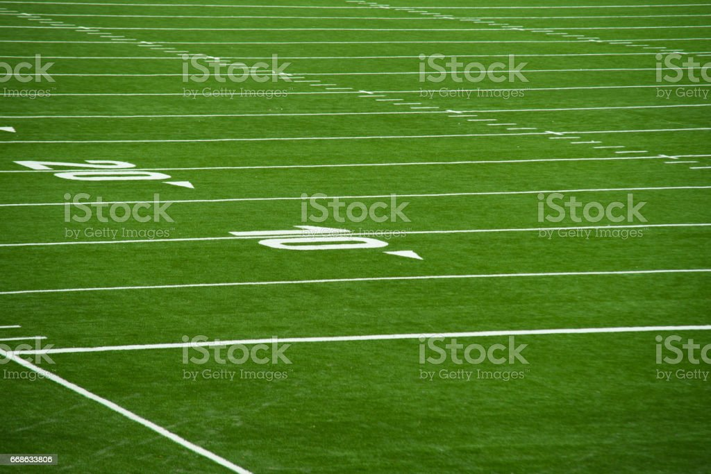 Close Up On Football Pitch Yards Stock Photo Download Image Now Istock