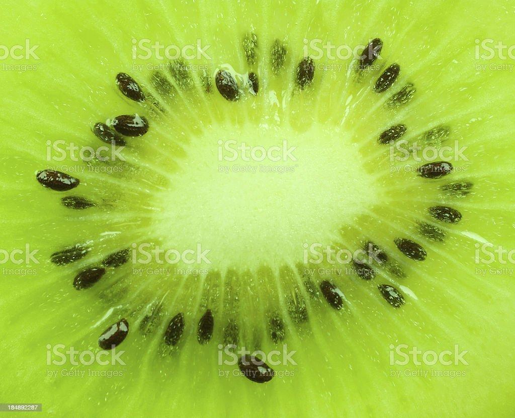 Close up on Kiwi fruit royalty-free stock photo