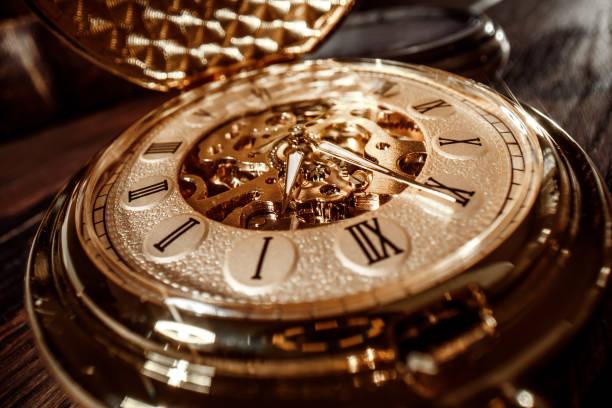 Vintage Uhr hautnah – Foto