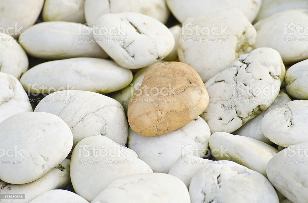 Close up pebble texture royalty-free stock photo
