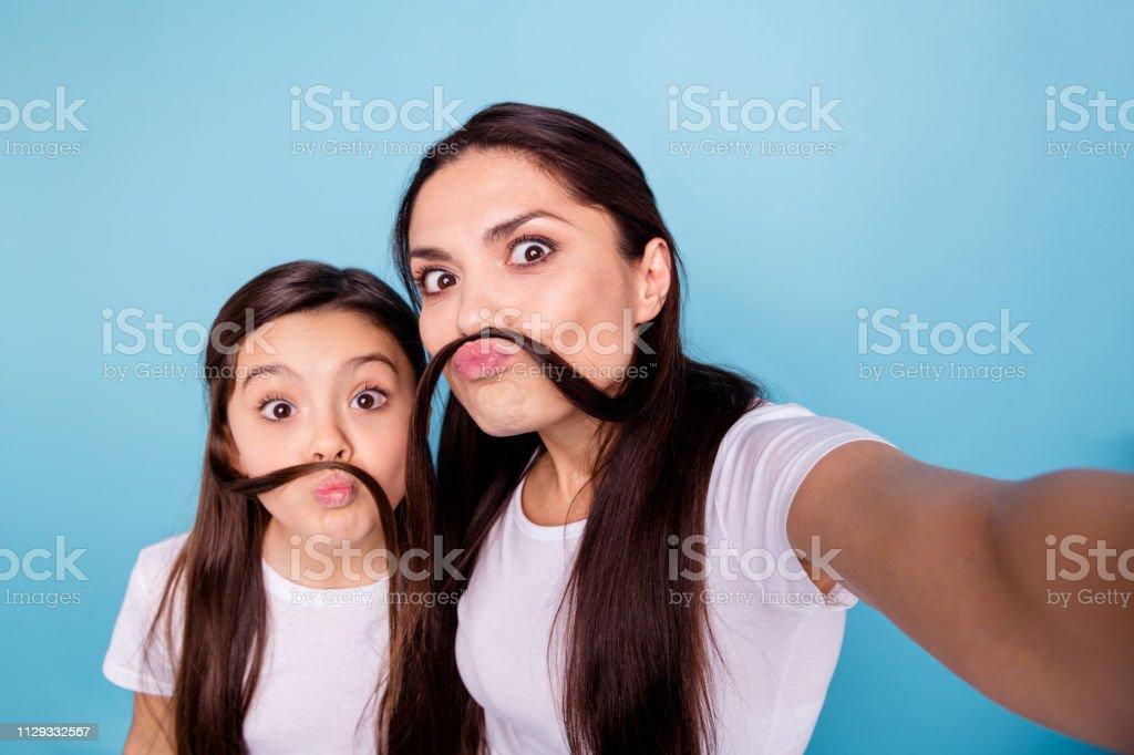 Nahaufnahme Foto Erstaunlich Schöne Zwei Menschen Braun