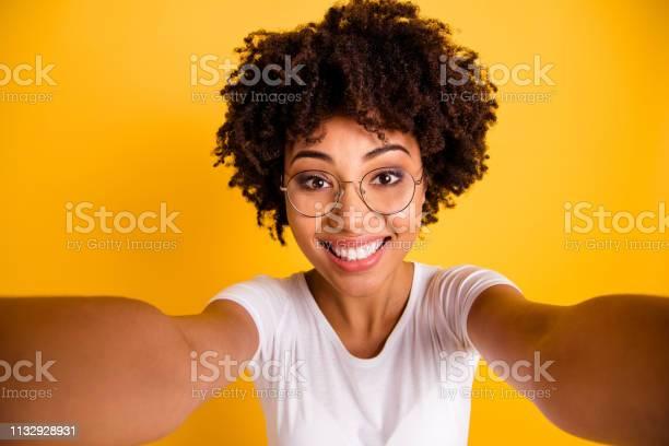 Close up photo beautiful amazing she her dark skin lady make take picture id1132928931?b=1&k=6&m=1132928931&s=612x612&h=nk ztf6nqkpdra5h9 vaf 39ydj3fpby9hmfyntsdfw=