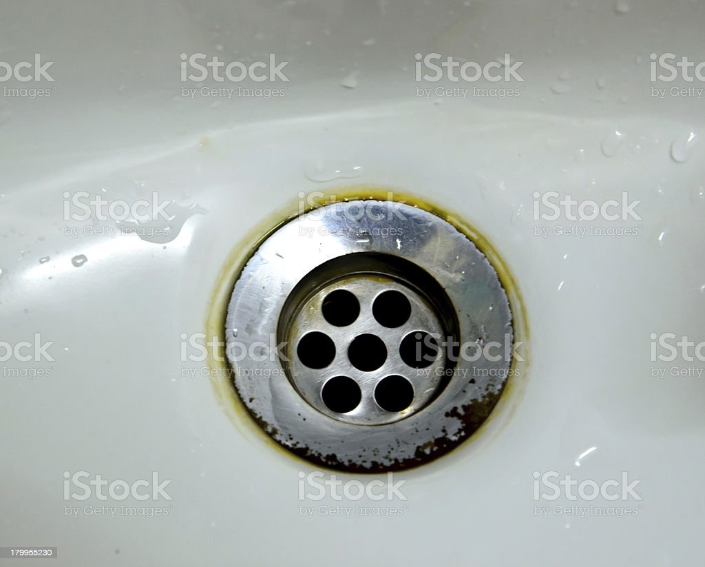 close up photo of old drain water royalty-free stock photo