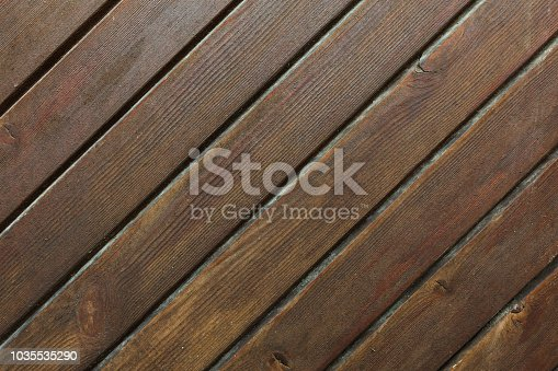 1124475954 istock photo Close up photography of texture of a brown wooden door 1035535290