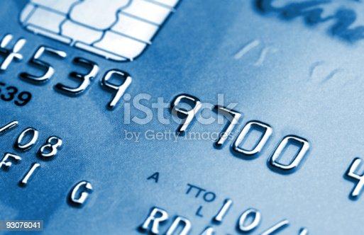 credit card detail fine background