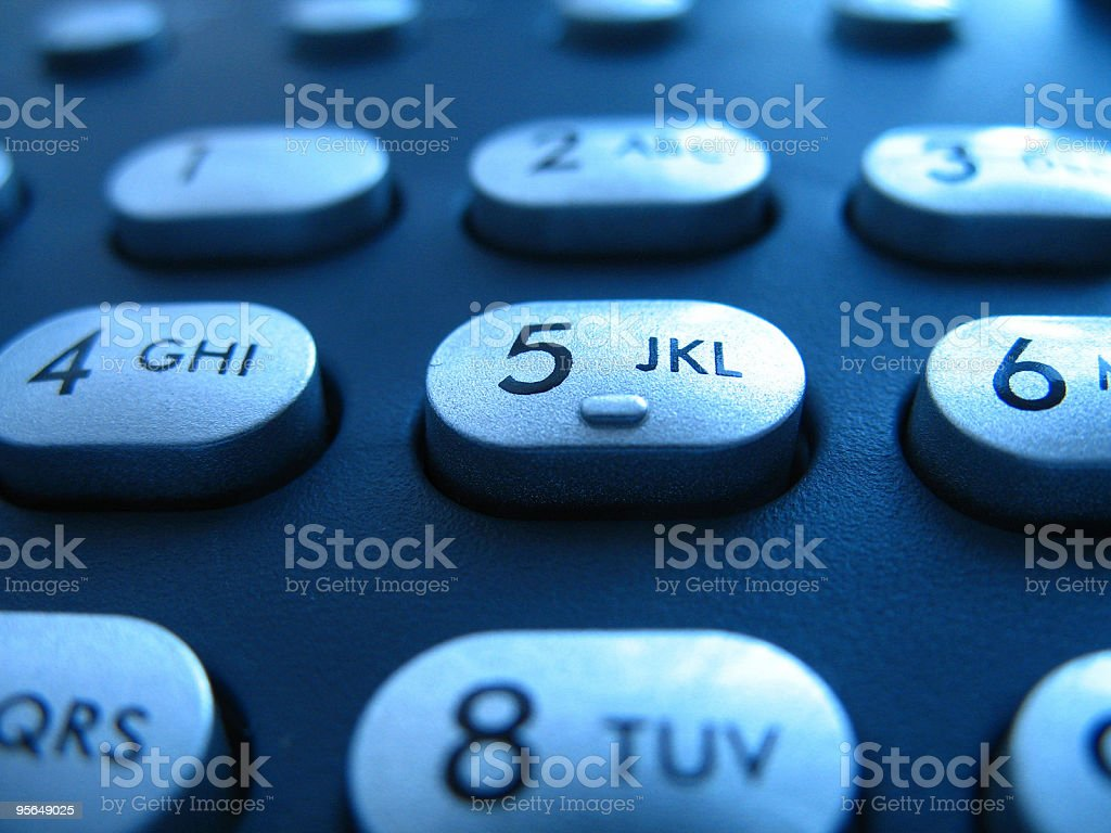 A close up picture of a keypad royalty-free stock photo