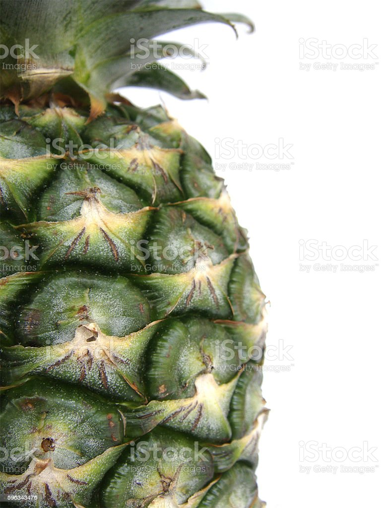 close up pineapple eyes Lizenzfreies stock-foto
