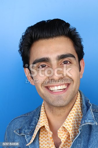 istock Close up portrait of Arabic nice man 509184838