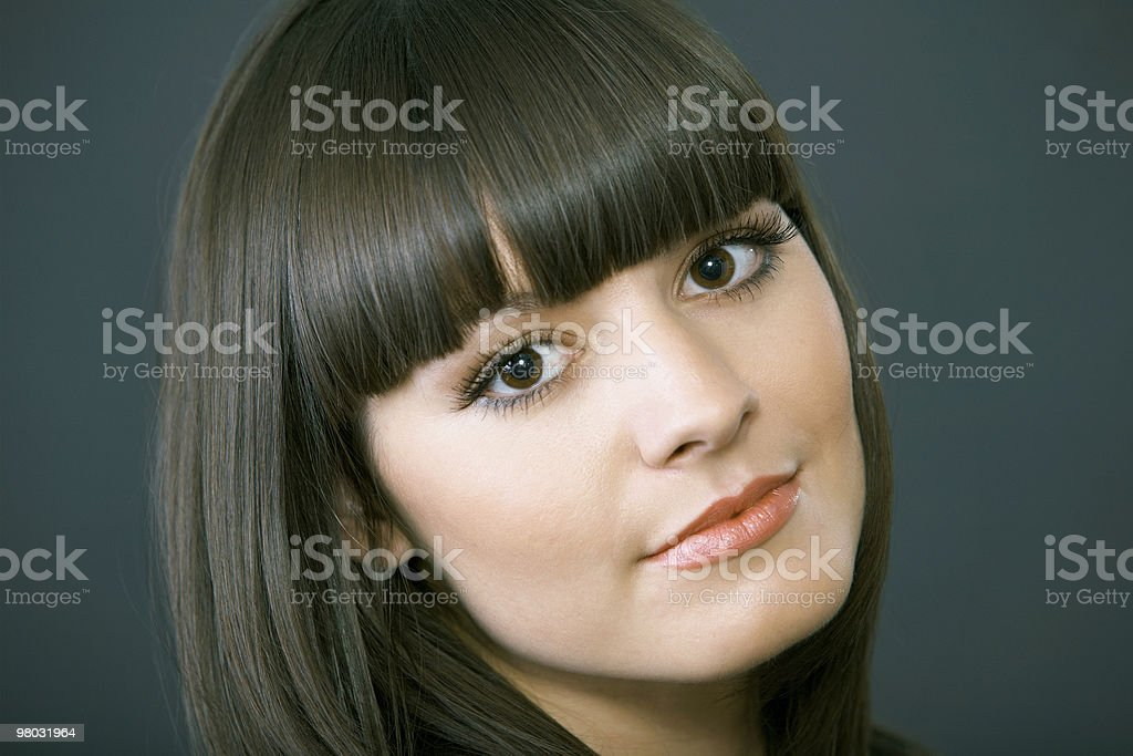 close up portrait of beautiful sexy girl royalty-free stock photo