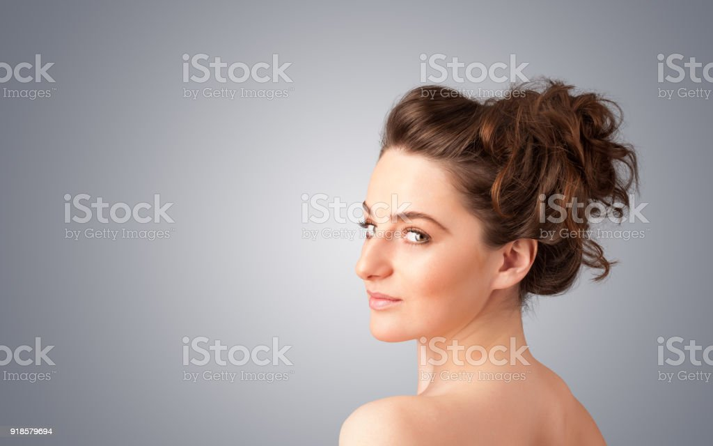 Close Up Portrait Of Beautiful Young Naked Girl Royalty Free Stock Photo