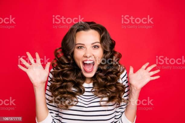 Close up portrait of cheerful yelling loudly she her girl wondered picture id1097377772?b=1&k=6&m=1097377772&s=612x612&h=0lxvs ncq9yhcqklnxnck1knspcsjnp9qxrew7a3zmw=