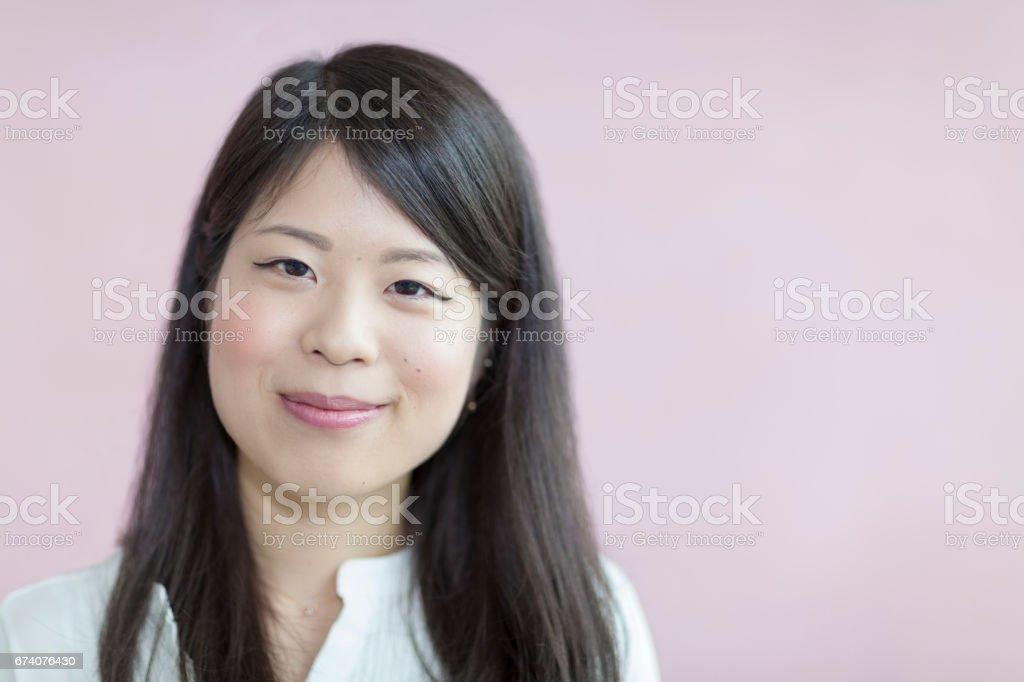 Close Up Portrait royalty-free stock photo