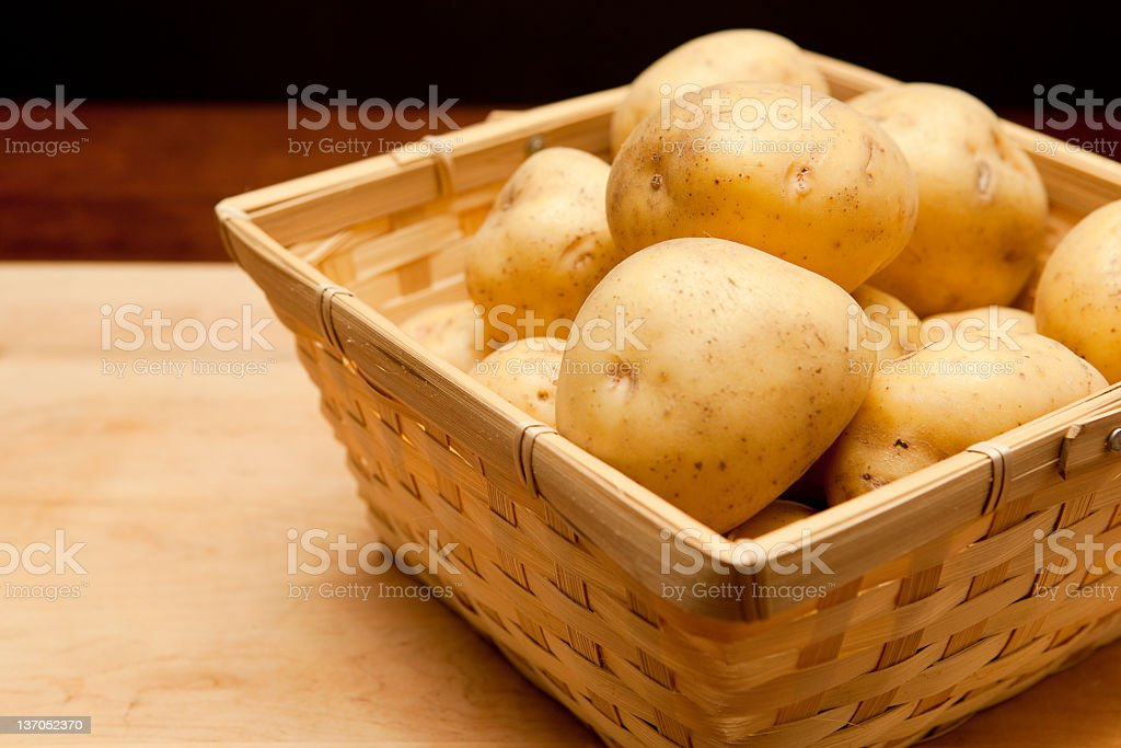 close up potato royalty-free stock photo