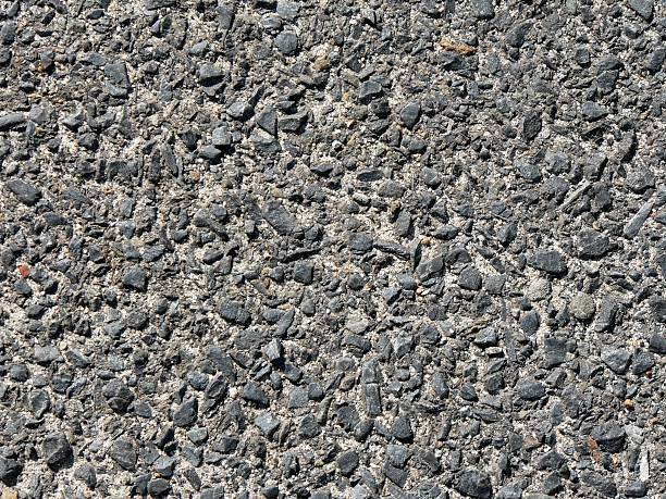 Close up Road Surface stock photo