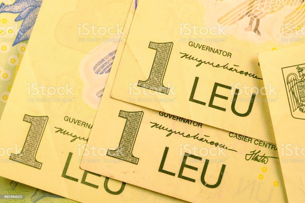 Close Up Romanian Currency Note Lei Or Leu Romania Stock Photo Istock