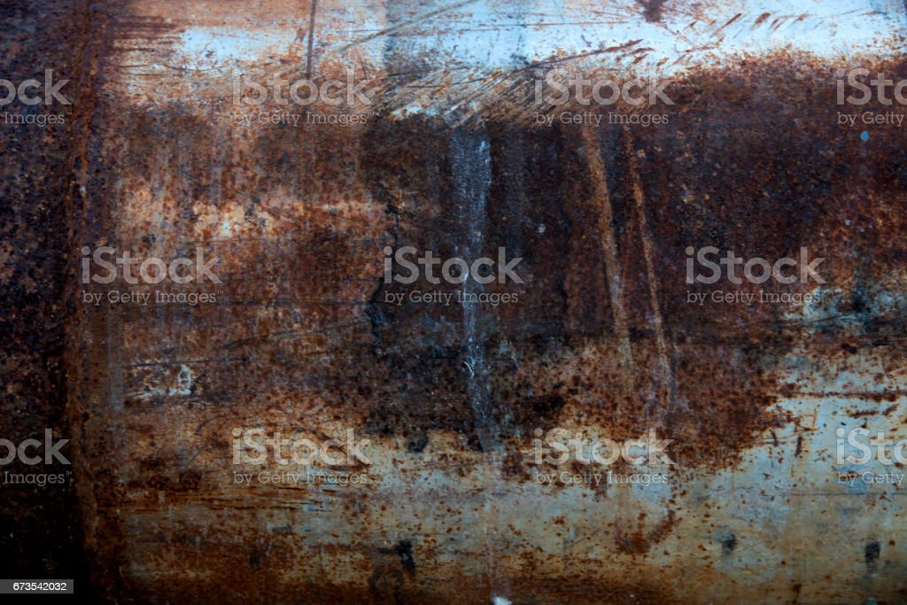 Close up rusty tube steel for background or wallpaper royalty-free stock photo
