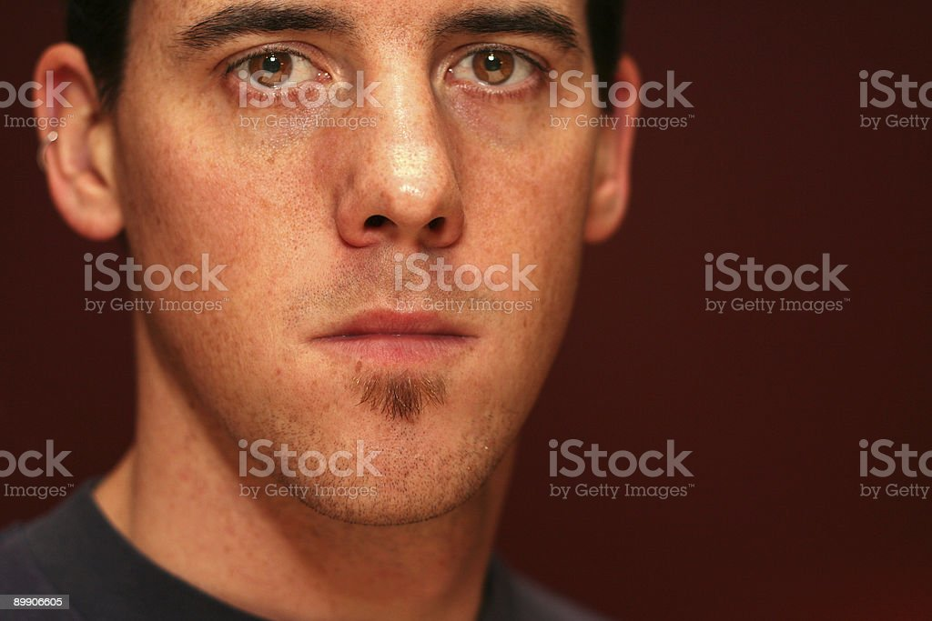 close up self-portrait series royalty free stockfoto