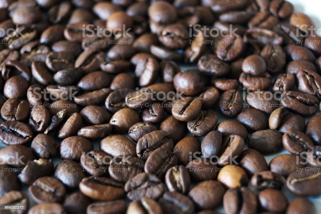 Close up shot of coffee beans royalty-free stock photo