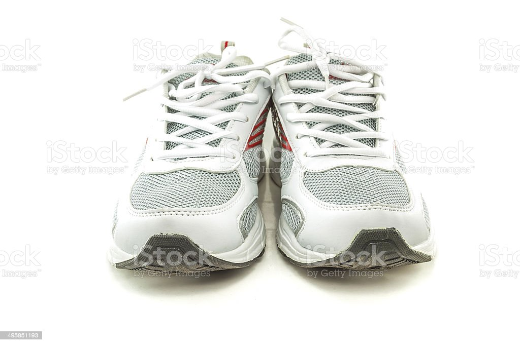Close up sneakers stock photo