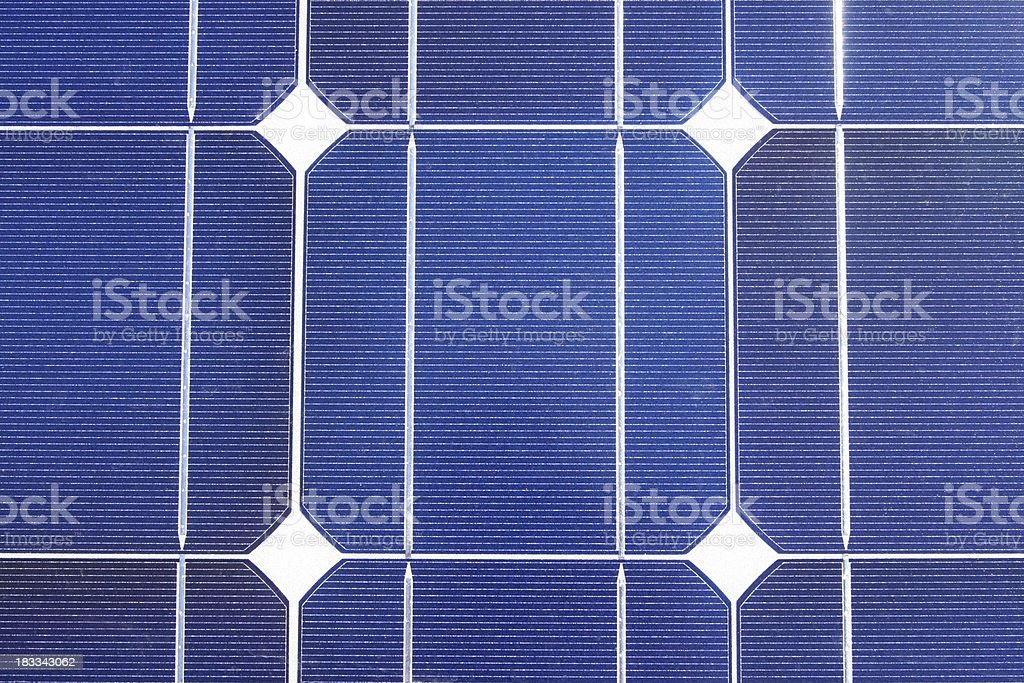 Close Up Solar Panel royalty-free stock photo