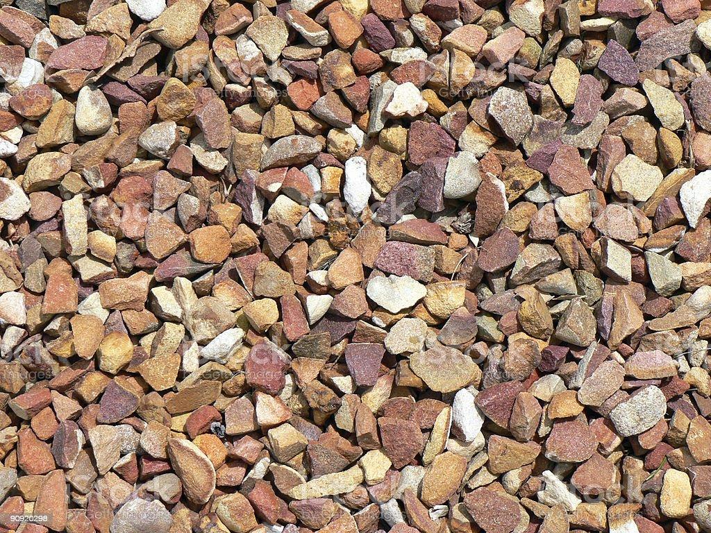 Close up Sticks and Stones stock photo