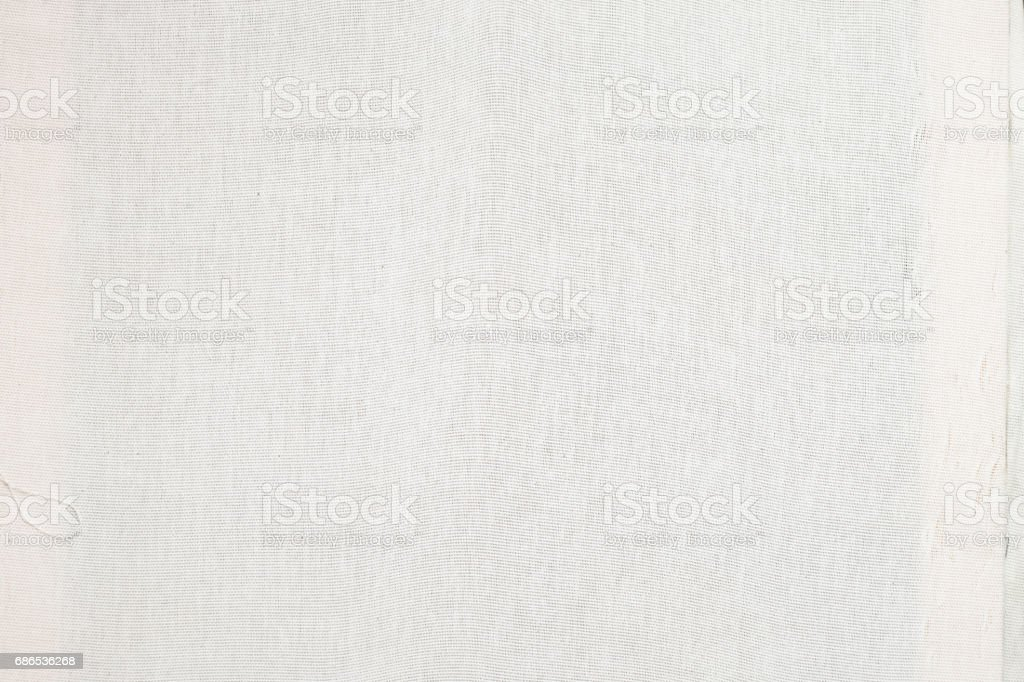 Close up texture of white cloth material foto stock royalty-free