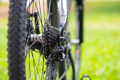 자전거의 체인을 닫습니다 강철에 대한 스톡 사진 및 기타 이미지