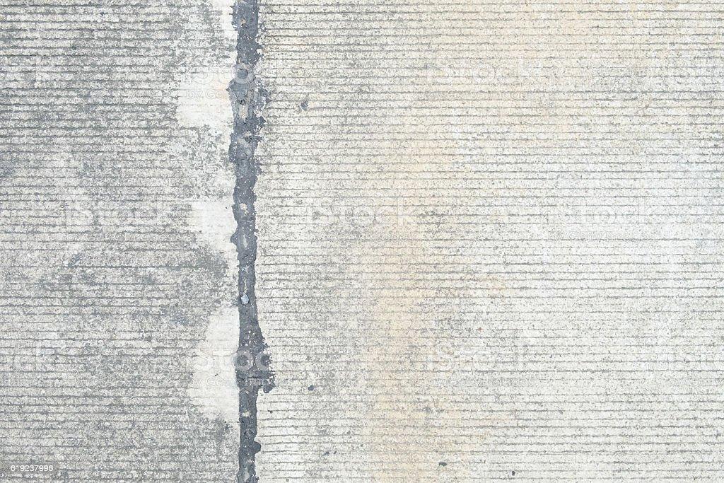close up the old broken concrete floor, stock photo