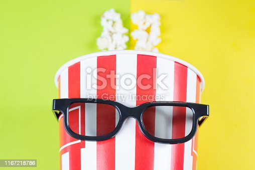 956942702 istock photo Close up top above high angle view flatlay photo of comic with serious face looking at you camera behaving like a person isolated over colorful background 1167218786