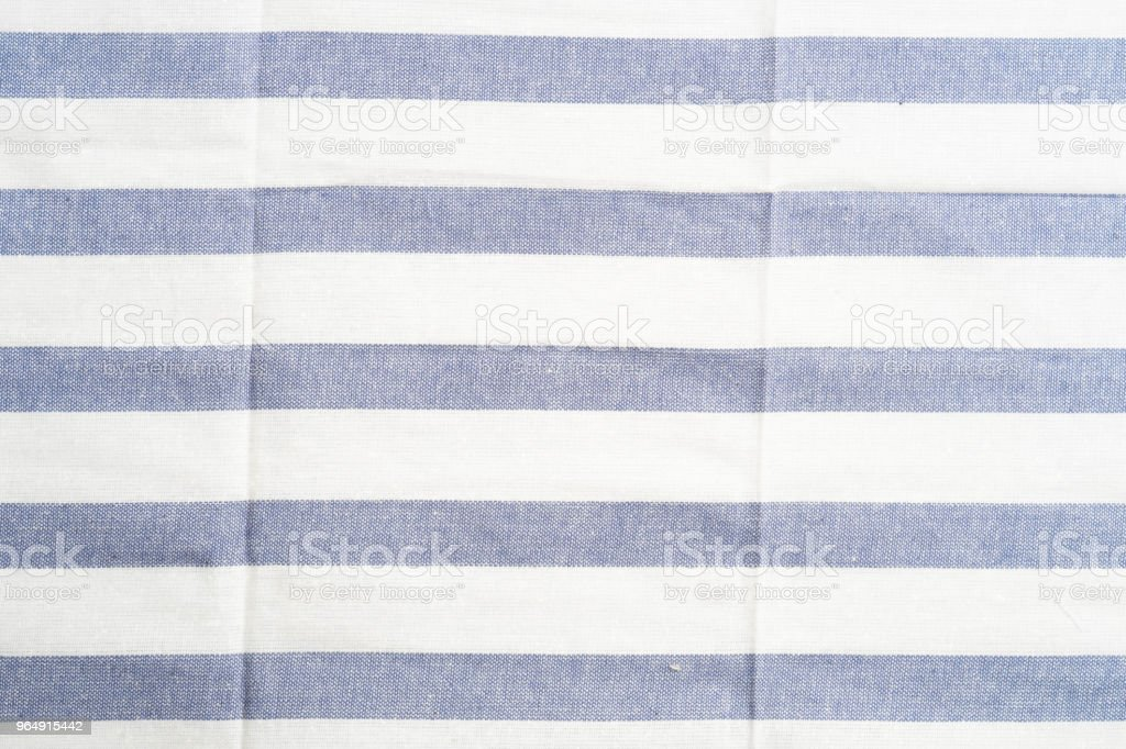 close up towel striped cloth set isolated on white background royalty-free stock photo
