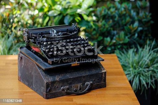 istock Close Up Typewriter 1152821348