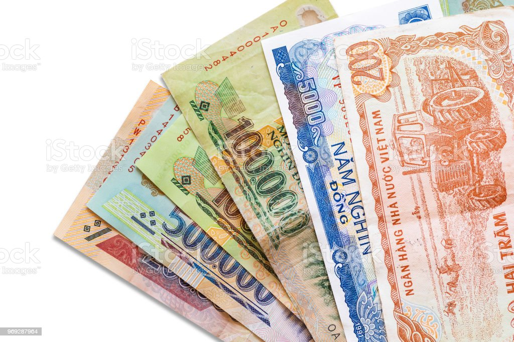 Close Up Vietnam Bank Note Stock Photo - Download Image Now - iStock