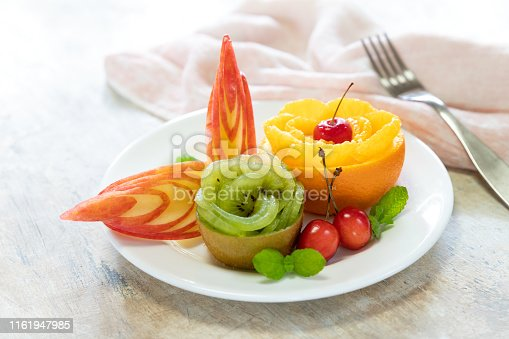 Fruit salad tray for buffet