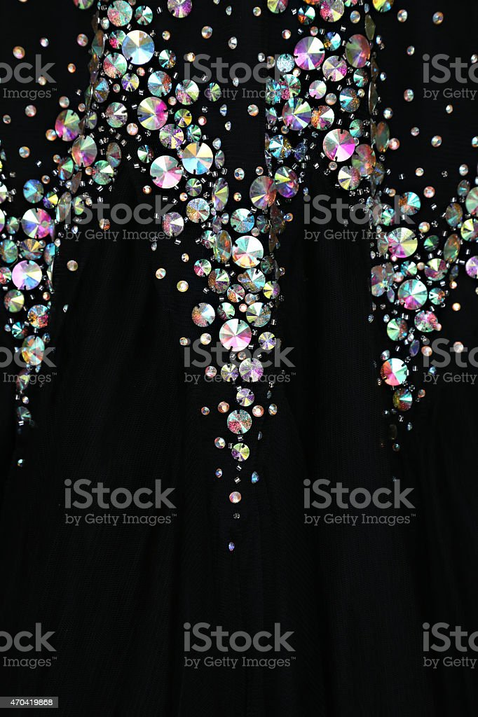 Clos'up view of elegante vestido - foto de stock