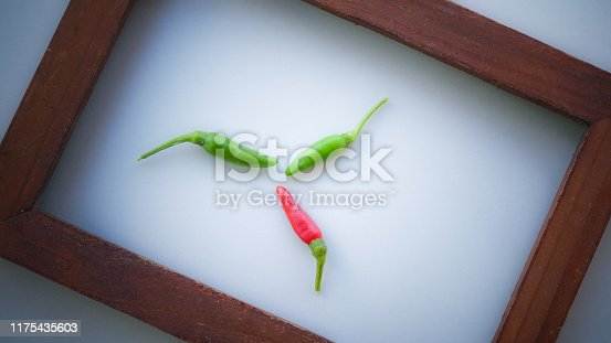 1141440440 istock photo Close up vintage wood frame on white background. 1175435603