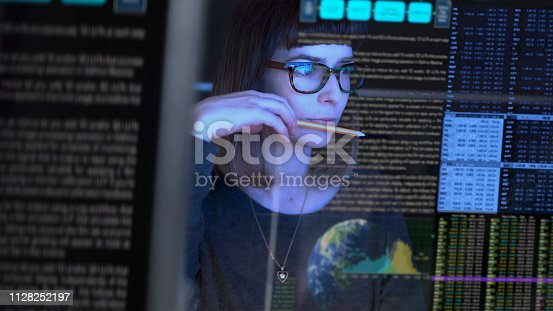 istock Close up watching 1128252197