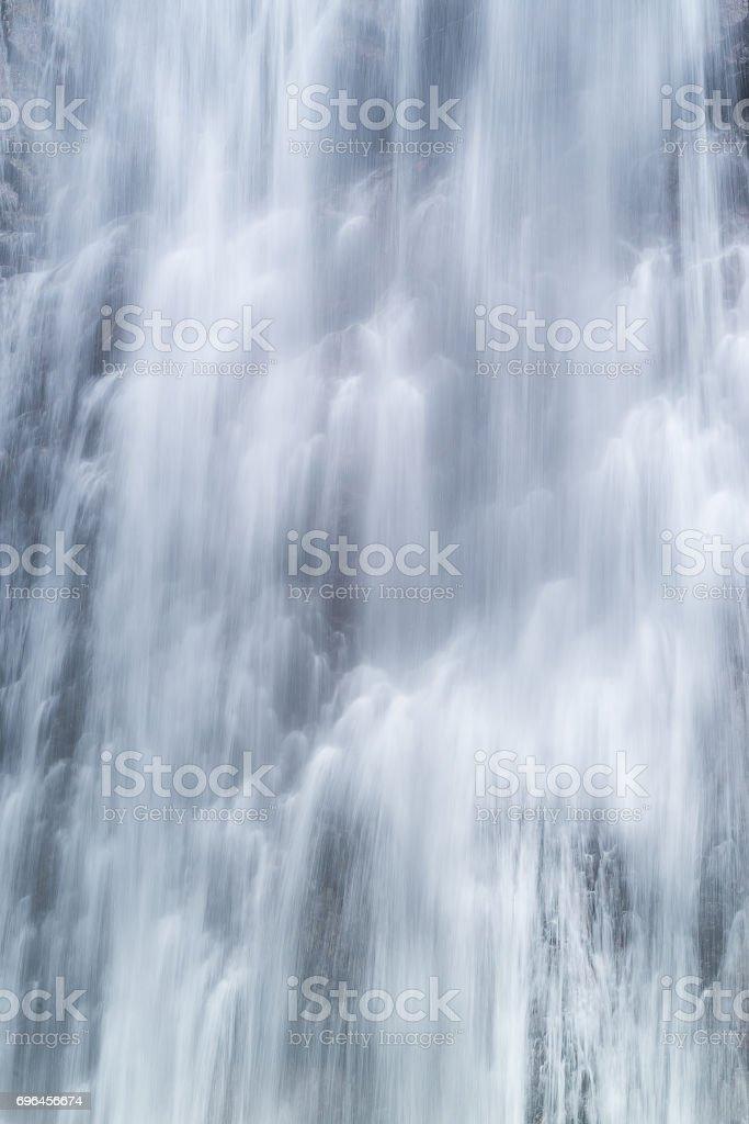 Close up waterfall background stock photo