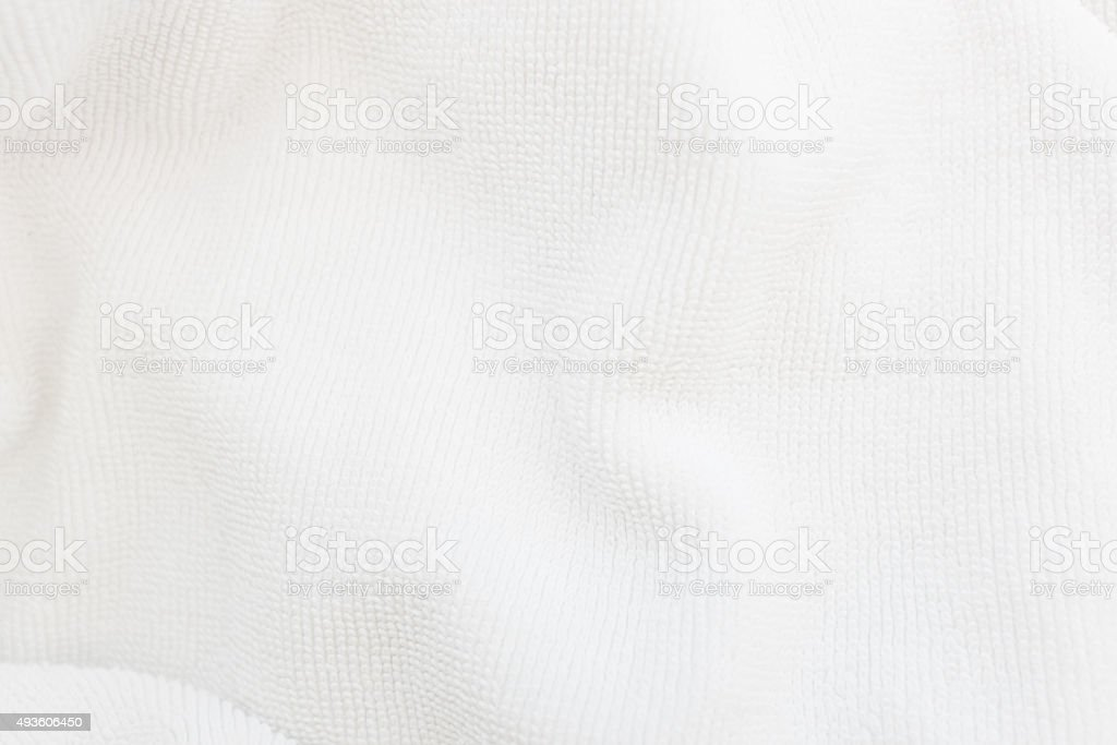 Close up white cotton background stock photo