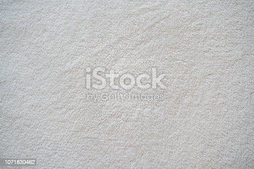 Background white towel