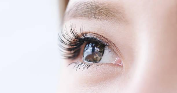 女性の目を閉じる - 人間の眼 ストックフォトと画像