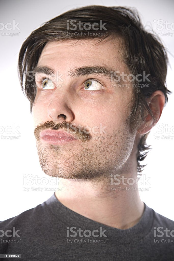 Close up young man royalty-free stock photo